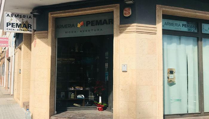 Armería Pemar en Yecla, Murcia, armas nuevas y de ocasión con taller de reparación
