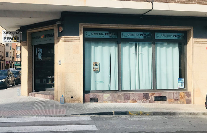 Taller de reparación de armas en Yecla, Murcia